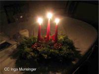 Kerststukje maken