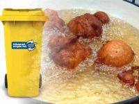 Frituurvet weggooien