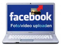 Foto of video uploaden naar Facebook