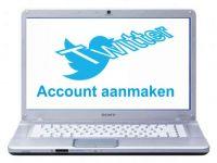 Twitter account aanmaken
