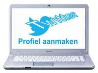 Twitter profiel aanmaken