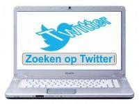 Zoeken op Twitter