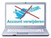 Twitter-account verwijderen