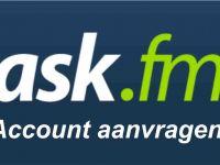 Ask account aanmaken