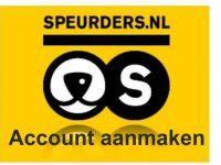 Speurders.nl account aanmaken