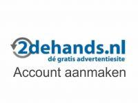 Tweedehands.nl account aanmaken