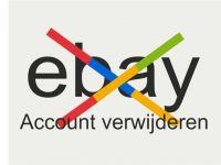 Ebay account verwijderen