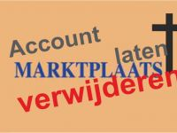 Marktplaats account verwijderen na overlijden