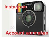 Instagram aanmaken