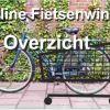 Online fietsenwinkel en fietsonderdelen winkel