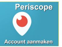 Periscope account aanmaken