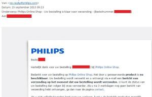 Zal het nu eindelijk gebeuren? Philips zegt de Hue lampen te versturen...